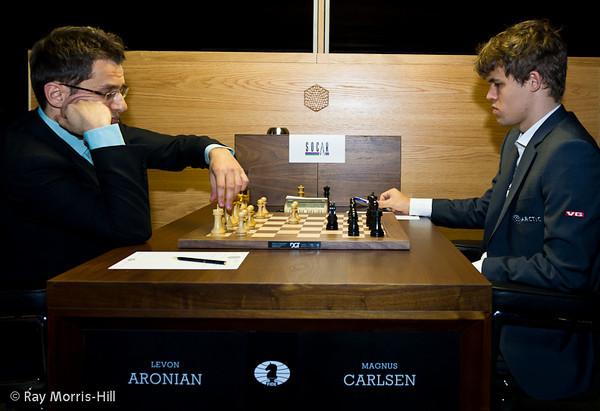 Torneo de candidatos 2013 1ª ronda candidatos 2013 Aronian vs Carlsen