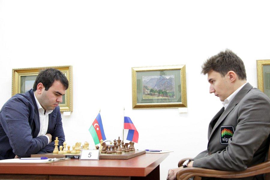 10ª ronda Tashkent ajedrez 2012 Mamedyarov vs Karjakin