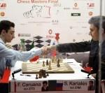 Chess Masters Final Bilbao 2012 Caruana Karjakin septima ronda