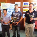 tres primeros del Campeonato de España de ajedrez 2012 Maspalomas