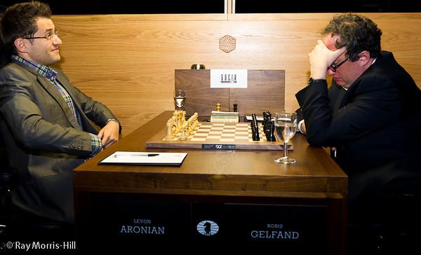 2ª ronda torneo de candidatos 2013 Aronian vs Gelfand