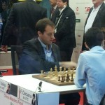 Vallejo vs Caruana en bilbao chess masters 2012
