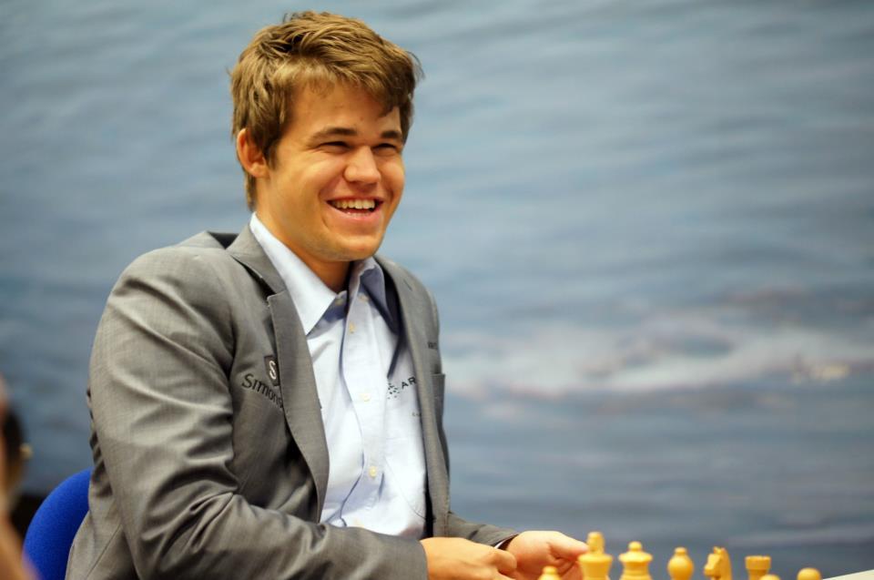 Magnus Carlsen - Campeonato mundial de ajedrez 2013
