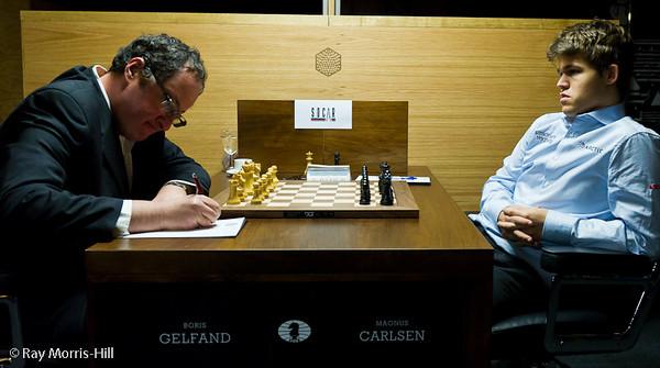 3ª ronda torneo candidatos 2013 ajedrez Gelfand vs Carlsen