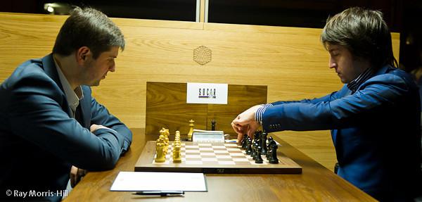 3ª ronda torneo candidatos 2013 ajedrez Svidler vs Radjabov