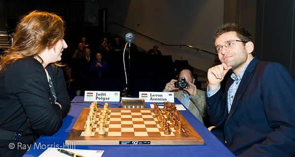 9ª ronda London chess classic 2012 Judit Polgar vs Aronian