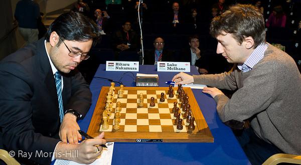 9ª ronda London chess classic 2012 Nakamura vs McShane