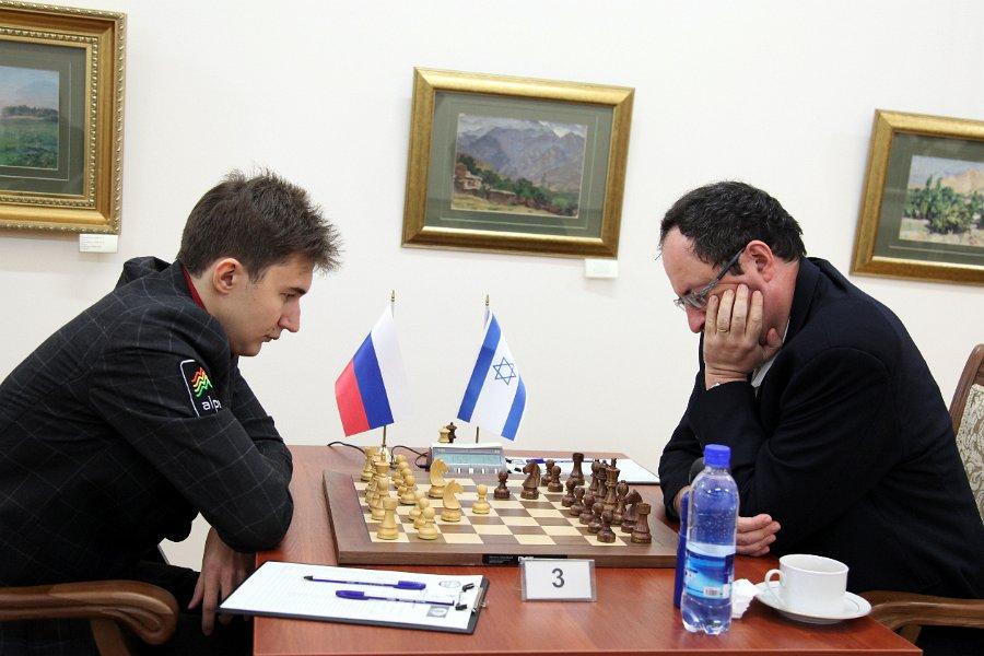 9ª ronda Tashkent ajedrez 2012 Karjakin vs Gelfand