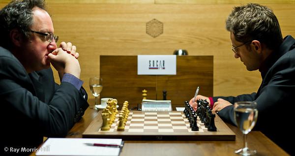 9ª ronda candidatos 2013 Gelfand vs Aronian