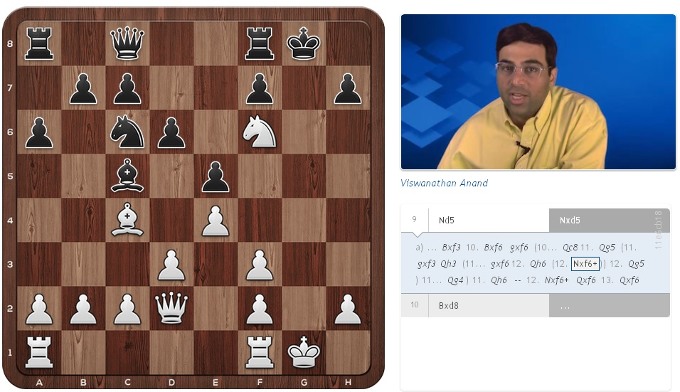 learn chess with ANAND