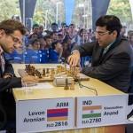 Anand Aronian 2ª ronda chess masters bilbao 2012