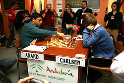 Anand vs Carlsen Linares 2007