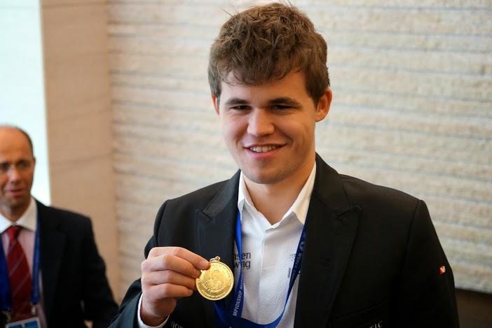 Magnus Carlsen campeon del mundo de ajedrez