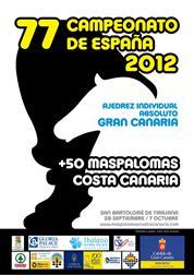 Campeonato de España de ajedrez 2012 Maspalomas