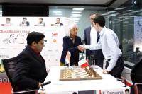 Chess Masters Final Bilbao 2012 Anand caruana octava ronda