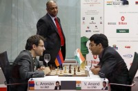 Chess Masters Final Bilbao 2012 Aronian Anand septima ronda