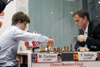 Chess Masters Final Bilbao 2012 Carlsen Vallejo septima ronda