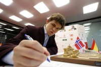 Chess Masters Final Bilbao 2012 Carlsen septima ronda