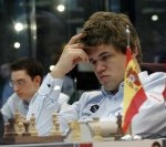 Chess Masters Final Bilbao 2012 Carlsen septima ronda1