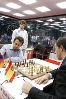 Chess Masters Final Bilbao 2012 Vallejo Aronian octava ronda