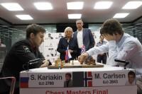 Chess Masters Final Bilbao 2012 karjakin carlsen octava ronda