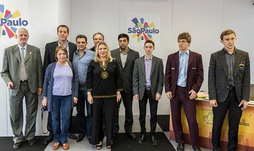 Chess Masters Final Bilbao Sao Paulo 12 jugadores y organización