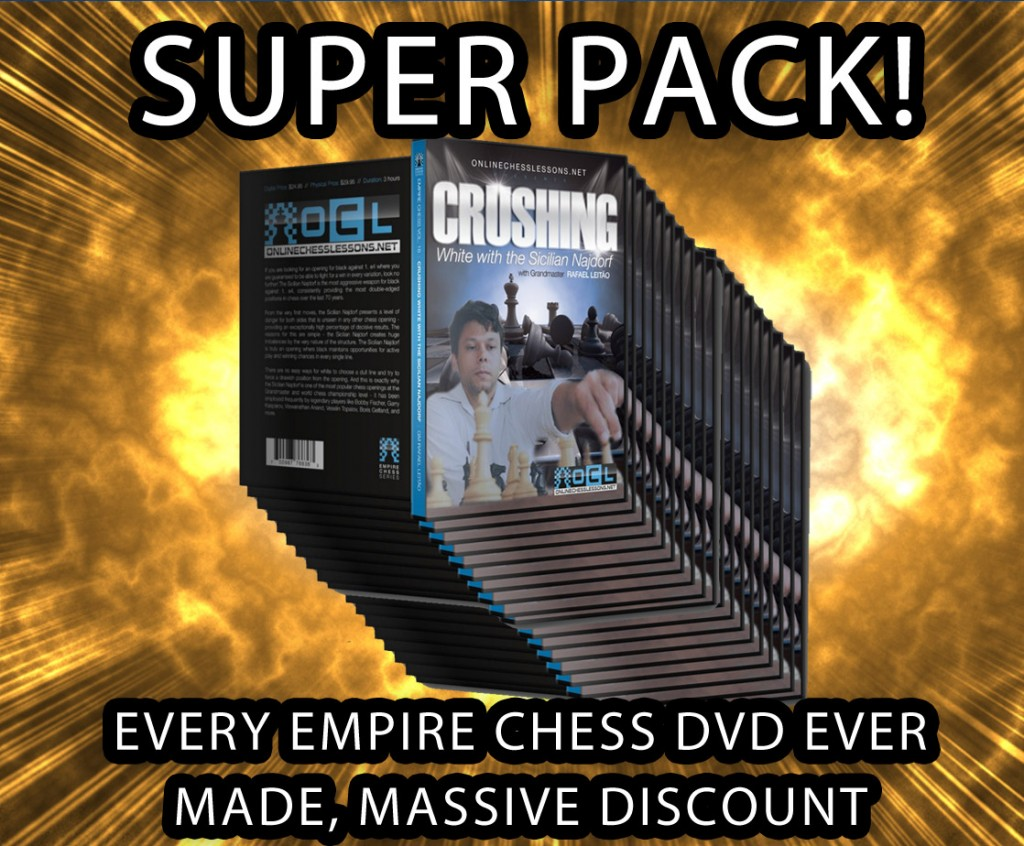 Empire chess DVDs