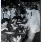 Fermín González contra Karpov en 1982