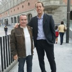 Fermin Gonzalez and GM Vallejo Pons at Bilbao Chess Masters 2012