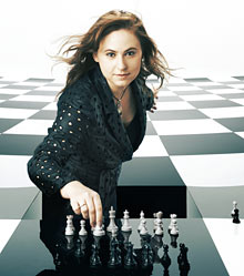 Judit Polgár vuelve a jugar en London chess classic 2012
