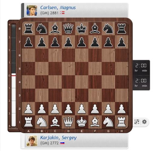 Ajedrez Memorial Gashimov Karjakin-Carlsen