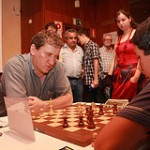Quinta ronda Campeonato de España de ajedrez 2012 en Maspalomas Gran Canaria
