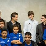 Simultaneas con niños chess masters bilbao 2012
