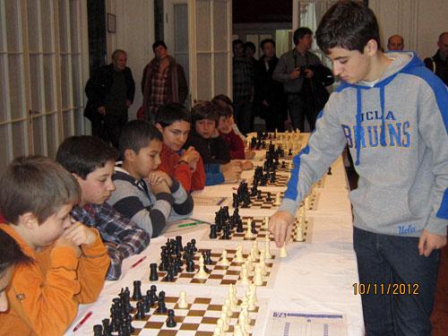 Ajedrez – Campeonato de España por equipos 2012