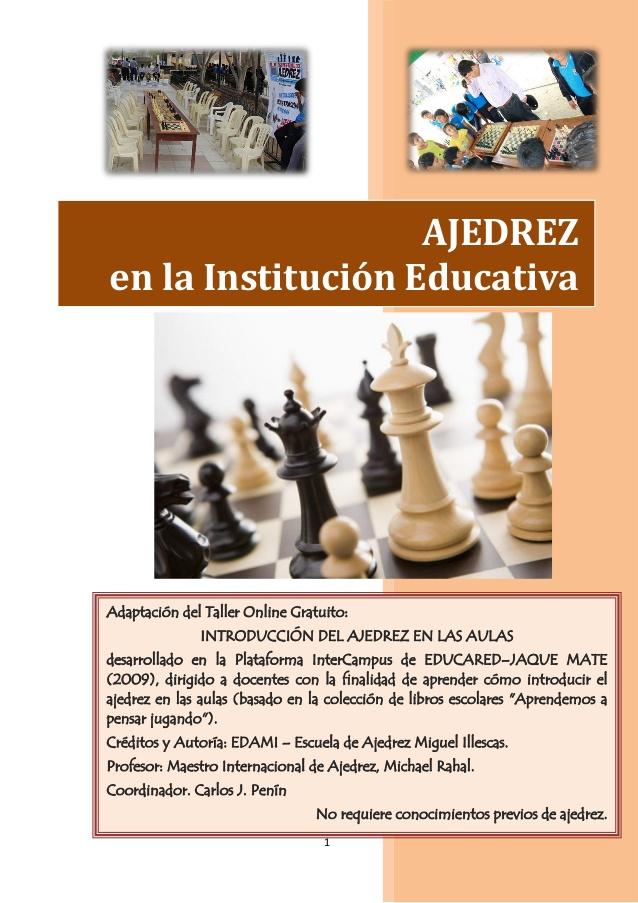 AJEDREZ como Asignatura Escolar – Clases de Ajedrez Online