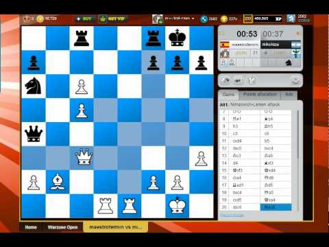 Ajedrez en linea en Chesscube Torneo de ajedrez rápido por MI Fermn Gonzlez