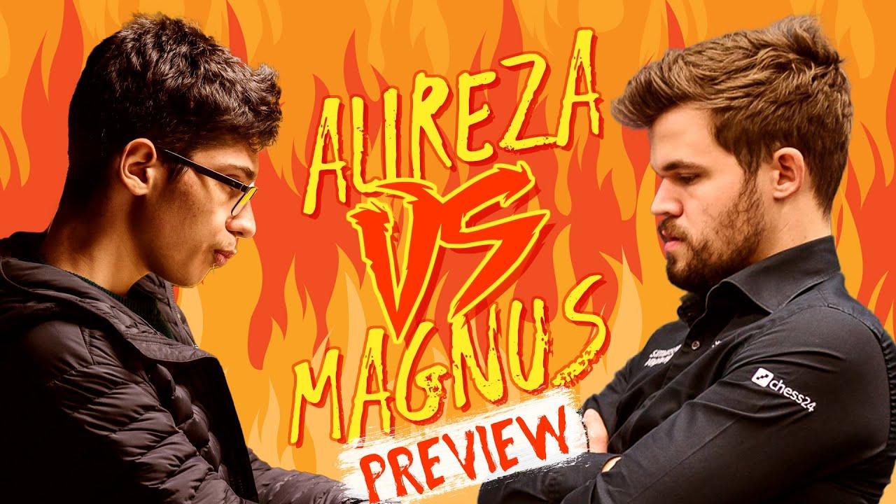 Alireza Firouzja vs. Magnus Carlsen Previa