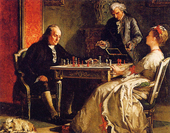 Benjamn Franklin y sus consejos para jugar al ajedrez