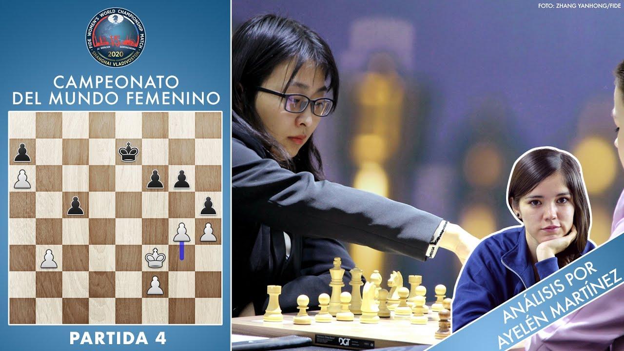 Campeonato del Mundo femenino 2020 (4): ¡Habemus victoria! Ju Wenjun por delante