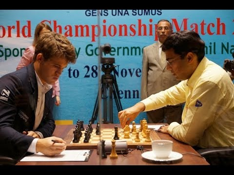 Campeonato mundial de ajedrez 2013 Anand vs Magnus Carlsen