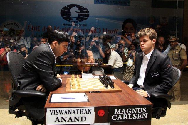 Campeonato mundial de ajedrez 2013