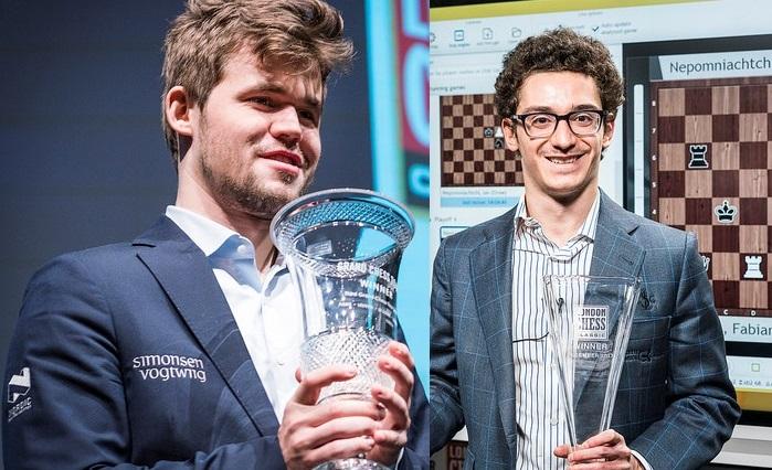 Carlsen y Kramnik comparten liderato en el Clásico de ajedrez de Londres 2012