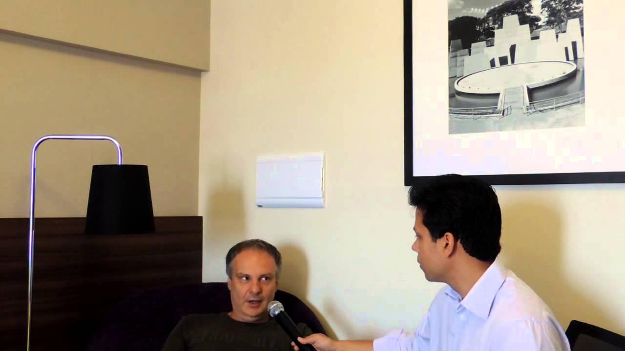 Caruana entrevistado por GM Milos sao paulo 2012