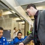Caruana simultaneas chess masters bilbao 2012