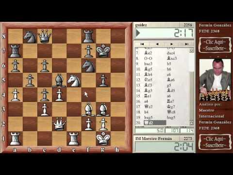 Clases de ajedrez en directo Contragambito Albin