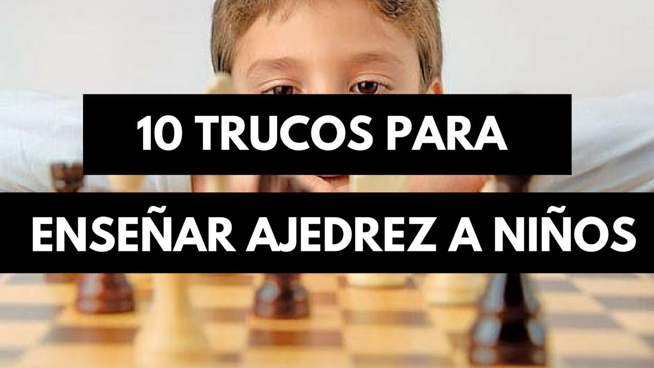 Cómo enseñar ajedrez a sus hijos pequeños