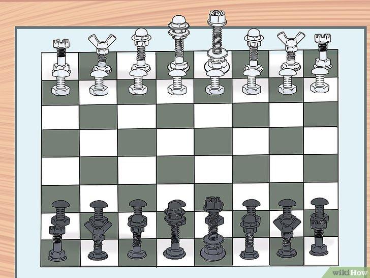 Cómo fabricar sus propias piezas de ajedrez