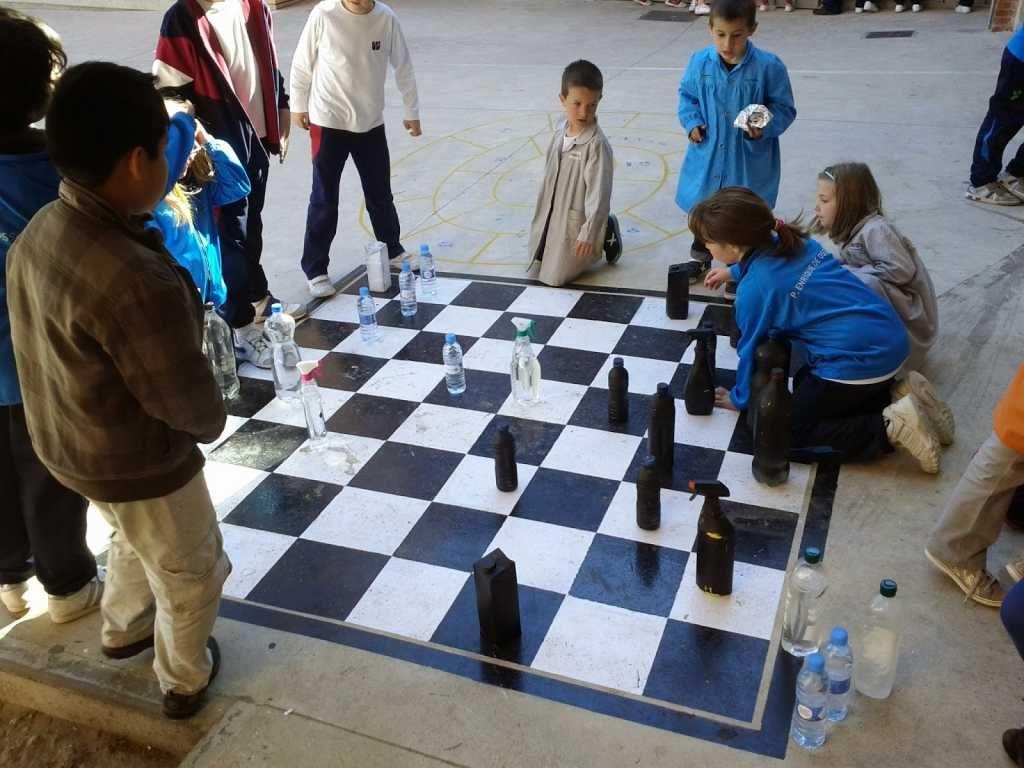 Cómo introducir el ajedrez en el recreo escolar