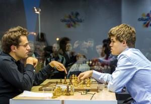 cuarta ronda bilbao chess maters 2012 carlsen aronian