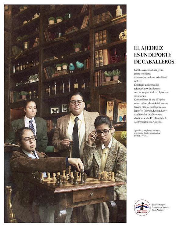 El ajedrez para ciegos  Más allá de lo visible